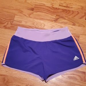 Adidas Climacool Running Shorts Purple XS